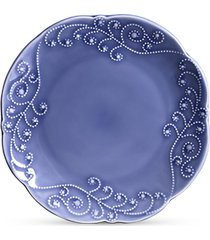 conjunto de pratos cerâmica rasos charmonix 6pcs cj6