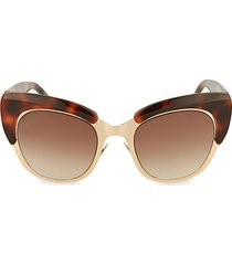 49mm novelty cat eye sunglasses