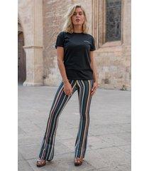 colourful rebel broek zwart 9190