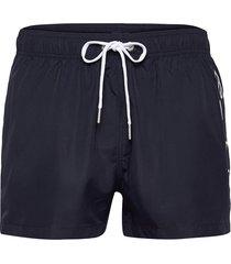 sc lightweight logo swim shorts badshorts blå gant