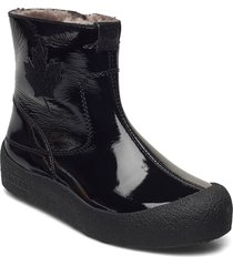 quebec patent shoes boots ankle boots ankle boot - flat svart canada snow