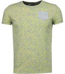 t-shirt korte mouw bn8 black number blader motief summer