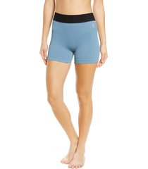free people fp movement seamless shorts, size x-small in apres blue at nordstrom