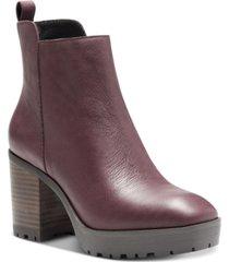 lucky brand women's worrin lug sole booties women's shoes