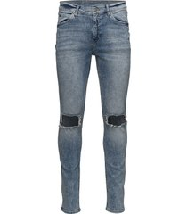 tight shift blue skinny jeans blå cheap monday