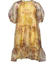 imaniiw dress korte jurk geel inwear