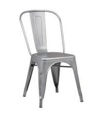 cadeira iron sem braços cinza rivatti