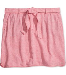 tommy hilfiger adaptive belted skirt