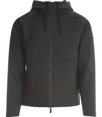 woolrich bonded fleece full zip hoodie