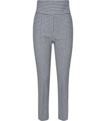 alexandre vauthier houndstooth trousers