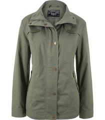 giacca a collo alto (verde) - bpc bonprix collection