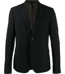 acne studios tailored fitted blazer - black
