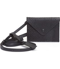 bolsa feminina mini envelope - preto