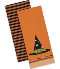 design imports witch hat dishtowel set