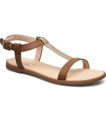 bay rosa shoes summer shoes flat sandals beige clarks