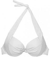bikini estilo sostén con relleno blanco samia