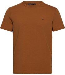 james tee t-shirts short-sleeved beige morris