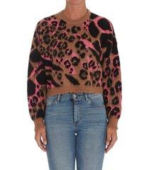 aniye by camou cropped sweater