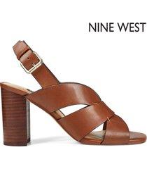 tacón bajo para mujer nine west nicolet- beige