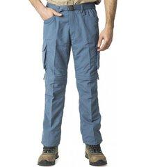 pantalón desmontable azul kannú