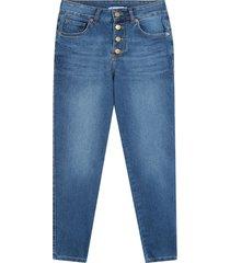 jean skinny tono azul claro color azul, talla 10