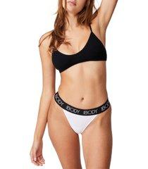 women's body organic cotton tanga g-string brief