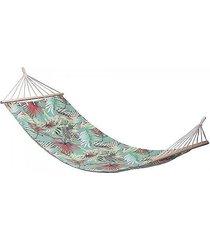 hamak fotel hamakowy bawełniany exotic miętowy