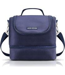 (for men) bolsa térmica com 2 compartimentos jacki design azul