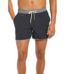 men's vuori 5-inch banks hybrid shorts, size xx-large - black