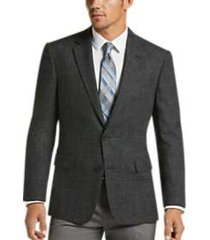 awearness kenneth cole black & white tic slim fit sport coat