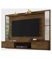 painel ametista para tvs até 60 pol. e espelhos madeira rústica móveis bechara