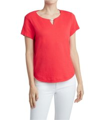 jones new york women's scoop neck top