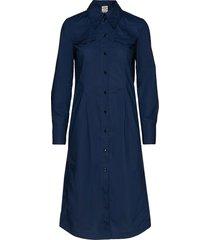 archie jurk knielengte blauw baum und pferdgarten