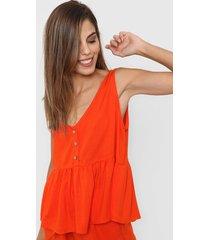 blusa naranja nano nicky