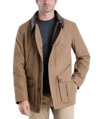 london fog men's barn peacoat