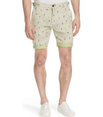 "brooklyn brigade men's standard-fit 9"" biltmore flat front shorts"