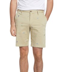 men's tommy bahama hit the links embroidered shorts