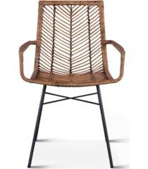 bali armchairs, set of 2
