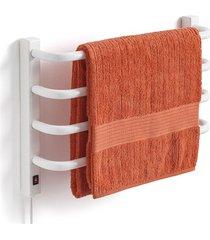 toalheiro térmico 220v para 1 toalha fio lado esquerdo branco