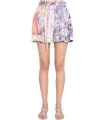 zimmermann botanical shorts