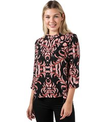 womens gyana 3 quarter sleeve top
