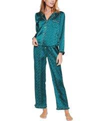 reverie marilyn dot-print pajama set
