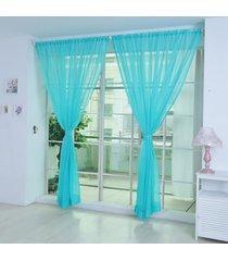 ishowtienda-2pcs-tulle-curtains-home-window-decoration-translucidus-modern-voile