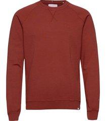 calais sweatshirt sweat-shirt tröja röd les deux