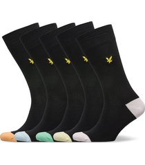 graham underwear socks regular socks svart lyle & scott