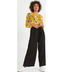 szerokie spodnie