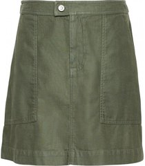 falda utility surplus mini verde banana republic