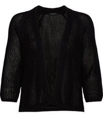 cardigans long sleeve stickad tröja cardigan svart marc o'polo
