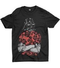 camiseta anime darth vader - unissex
