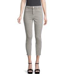 l'agence women's mid-rise skinny jeans - marsh grey - size 31 (10)